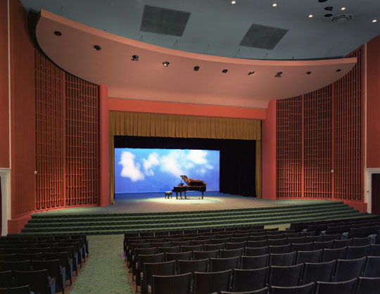 Scottish Rite Auditorium Stage